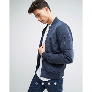 Hollister nylon bomber jacket
